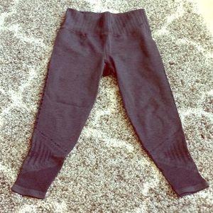Athleta medium Halsana laser cut tights leggings
